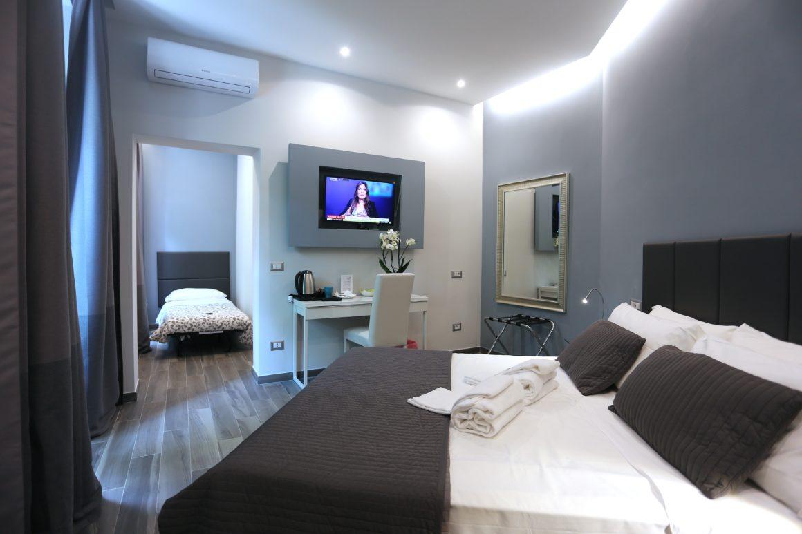 Double room rome center